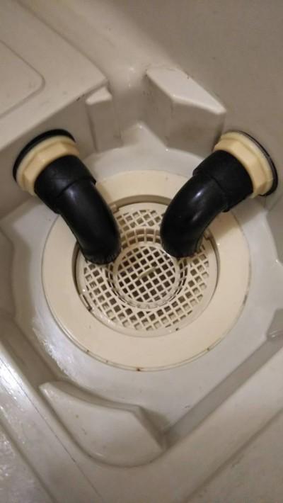 排水周りの汚れ