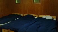 ベッドメイキング