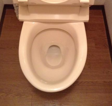 トイレ 輪ジミ除去
