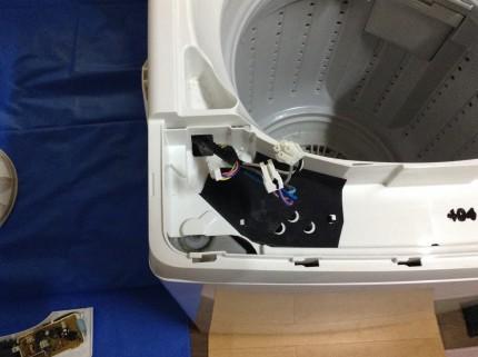 洗濯機分解方法
