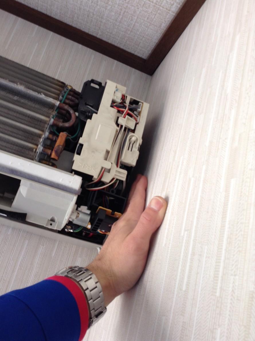 エアコン クリーニング 設置状況