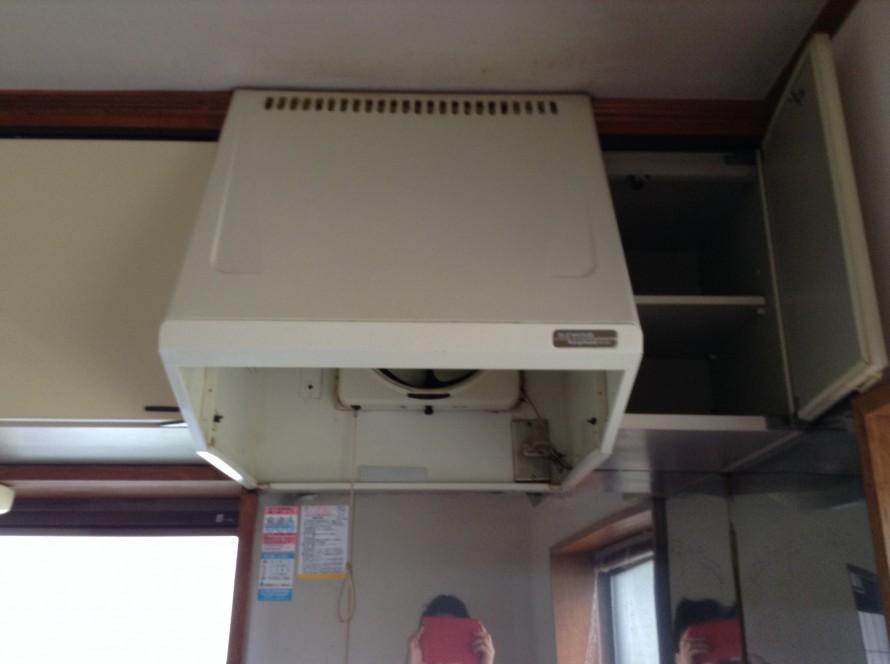 プロペラ換気扇のクリーニング