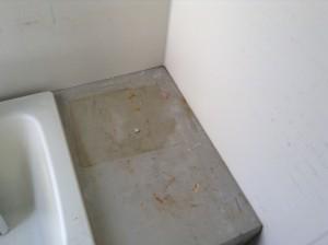 お風呂場の湯アカ、錆落とし