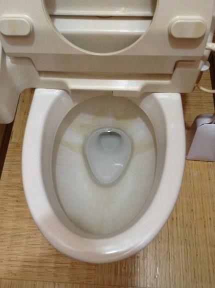 トイレの水アカ落とし 小諸市
