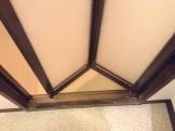 洋室折れ戸のカルキ除去