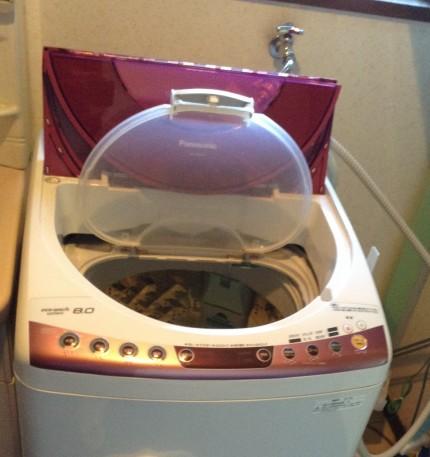 洗濯槽分解