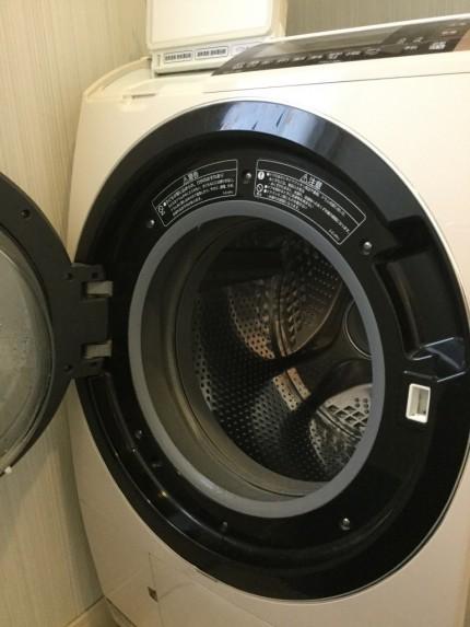 日立洗濯機分解洗浄