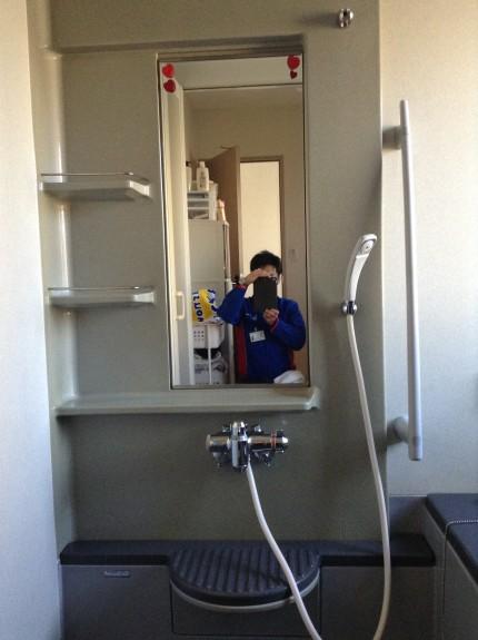 浴室 クリーニング 湯アカ 水アカ 石鹸カス