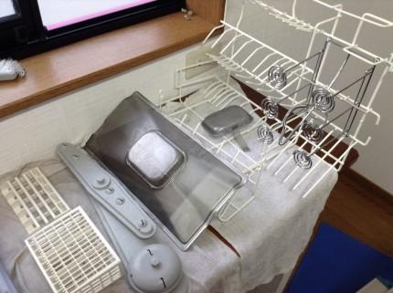食器洗い機の分解洗浄