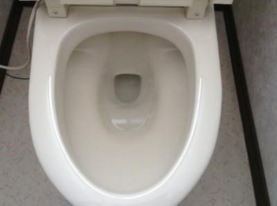 トイレ 黒ズミ 輪ジミ 除去
