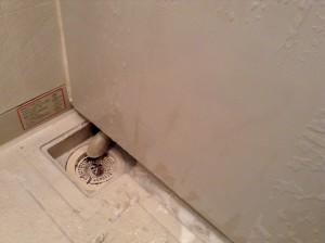 湯アカ 浴槽 側面