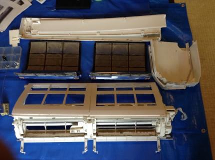 ノクリア エアコンクリーニング お掃除機能付きエアコン フィルター