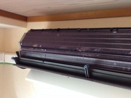 ノクリア エアコンクリーニング お掃除機能付きエアコン アルミフィン