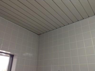 タイル張りお風呂のカビとり
