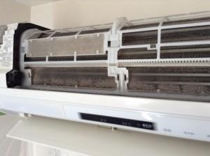 パナソニック お掃除機能付きエアコン クリーニング