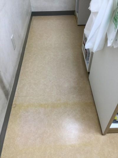 店舗の床洗浄