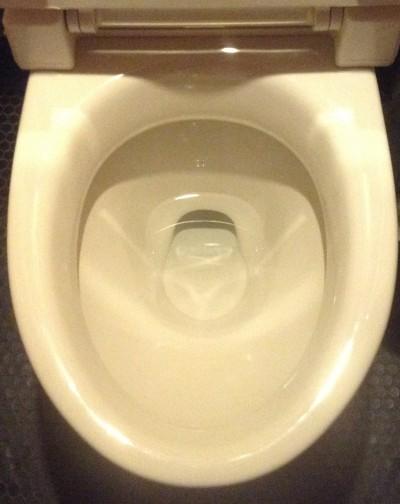 トイレ 輪ジミ クリーニング