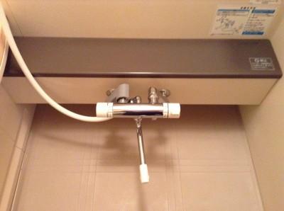 水栓周りの水アカ