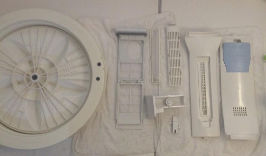 洗濯槽 クリーニング 三洋アクア AWD-TQ900 分解クリーニング