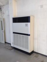 床置きエアコンのクリーニング