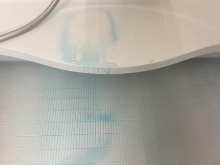 青い水アカ除去