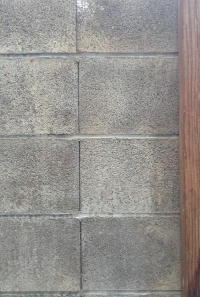 ブロック塀 エフロ除去