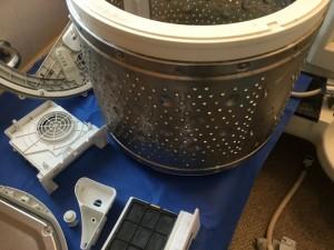 洗濯ドラム洗浄