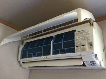 佐久市の室外機クリーニング