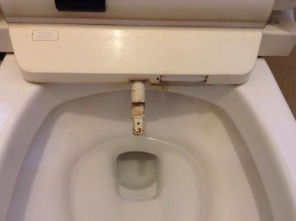 トイレ ウォシュレット 尿関除去