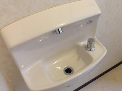 トイレ ウォシュレット クリーニング 手洗器
