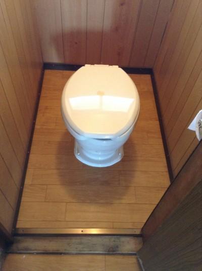 トイレの修繕