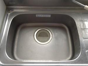 キッチン シンク 流し台 水アカ除去