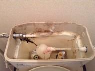 トイレの水洗タンク内クリーニング
