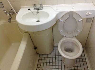 浴室水アカ落とし