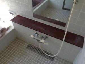 浴室 水アカ除去