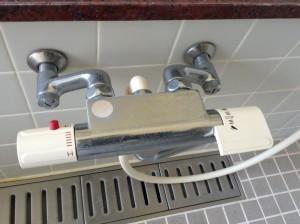 水栓 水アカ 除去