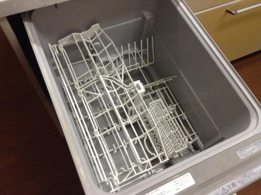 食洗機を洗う