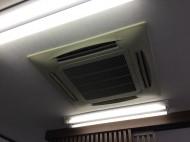 天埋4方向業務用エアコンクリーニング