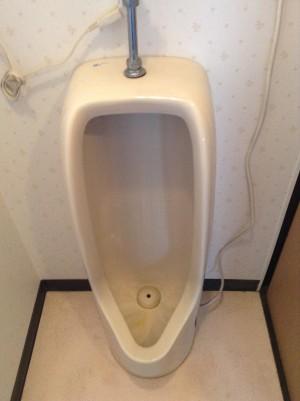 トイレ 尿石 黒ズミ 輪ジミ 床 クリーニング