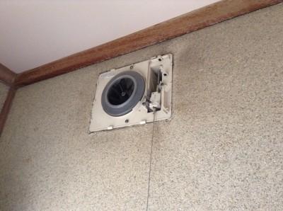 トイレ 換気扇 クリーニング