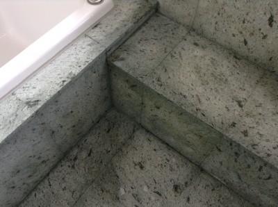 天然石 浴室 クリーニング