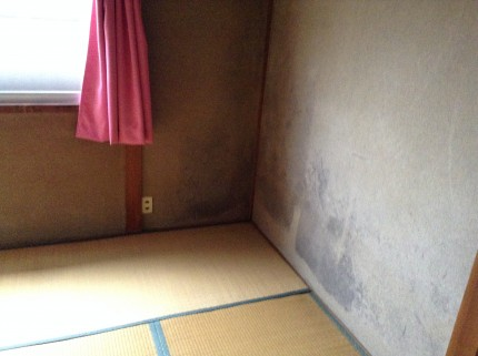 修繕クリーニング 壁 畳をCFへ