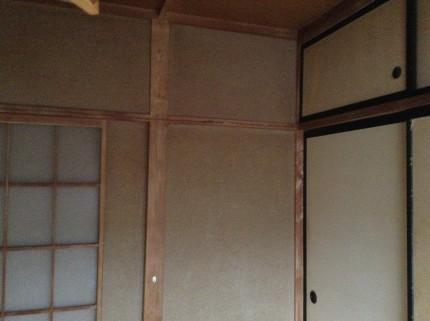 修繕クリーニング 壁 天袋
