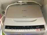日立ビートウォッシュ洗濯機分解洗浄