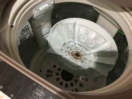 日立洗濯機ビートウォッシュ分解洗浄