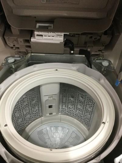 洗濯機洗浄内部汚れ