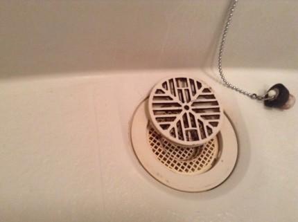 浴室クリーニング 水アカ除去