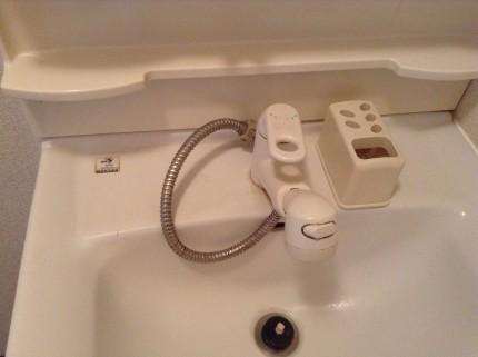 洗面所 水アカ除去
