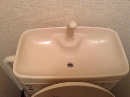トイレ 水洗タンク 水アカ除去