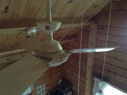 高所のホコリクモの巣取りそうじ